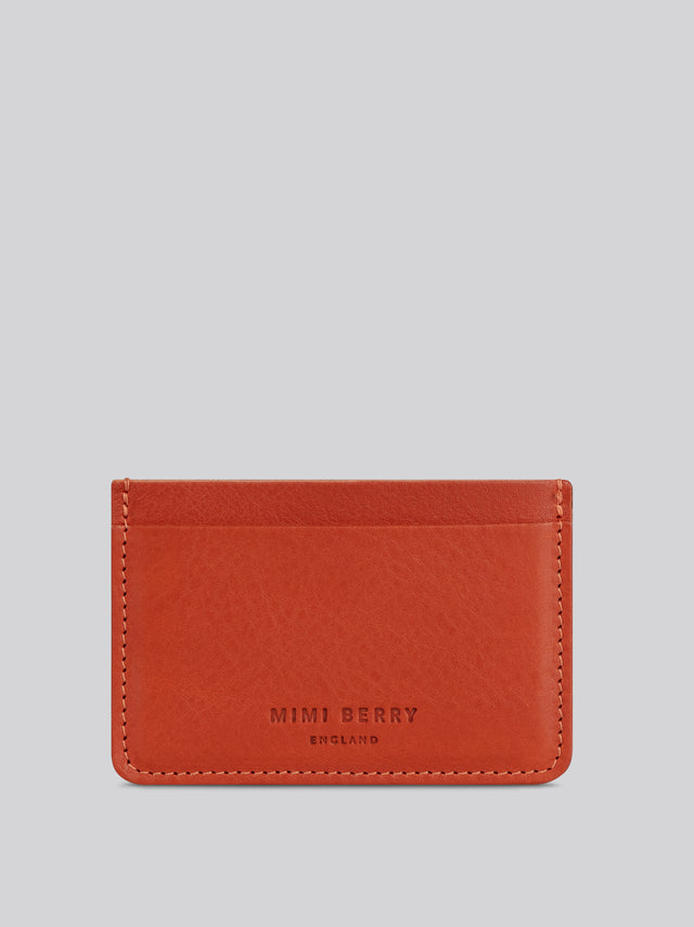 Card Holder - Brandy grainy