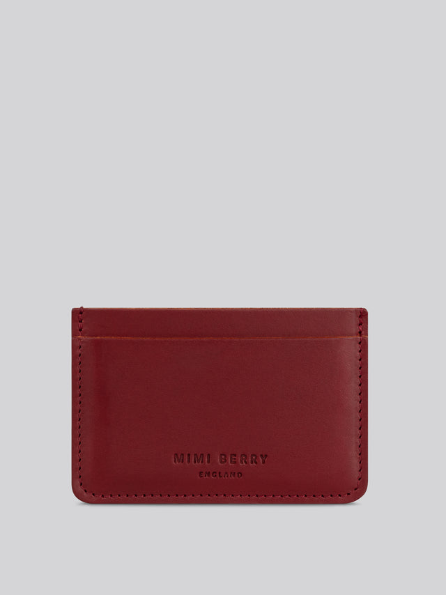 Card Holder - Rust