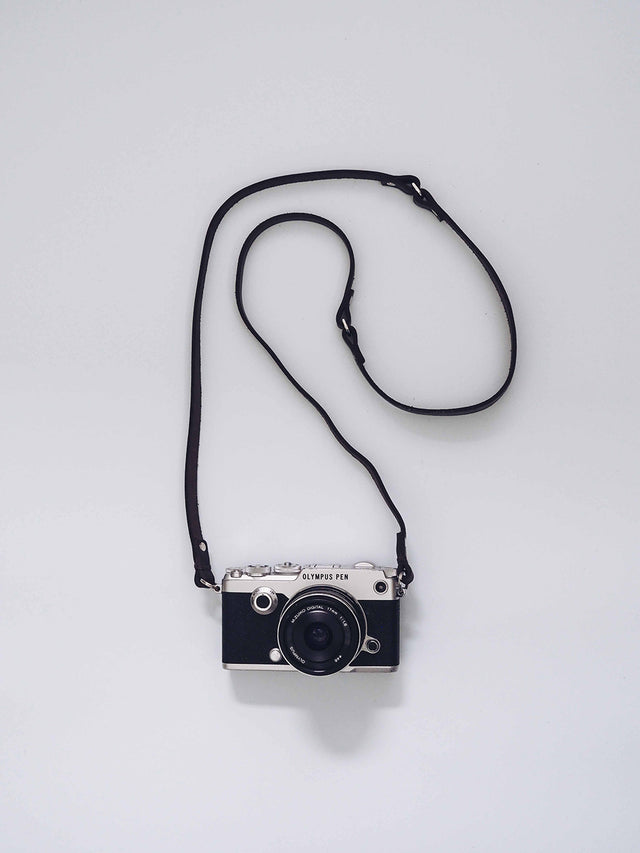 Gertrude Camera Strap - Chocolate