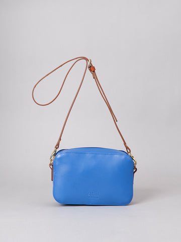 Sibell - Cornflower with tan strap