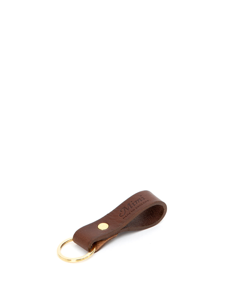 Loop Key Ring - Brown