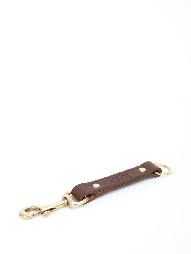 Clip Key Ring - Brown