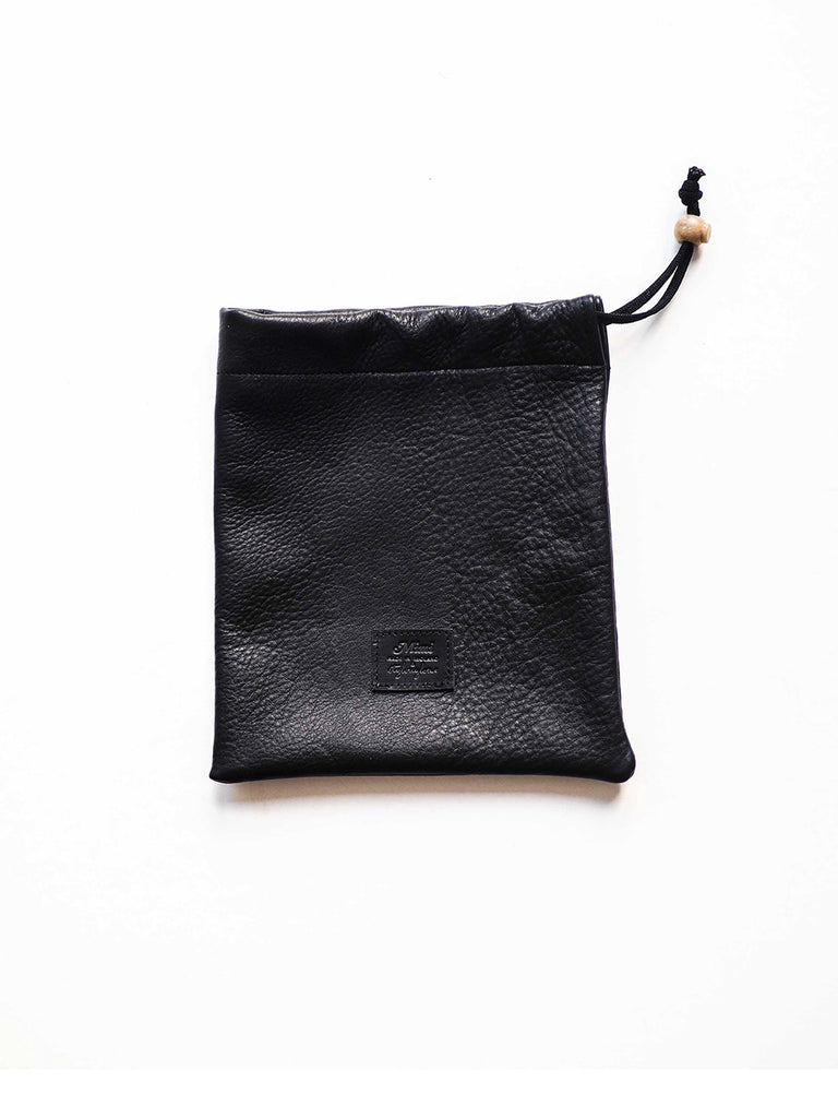 Nellie Pouch - Black Leather