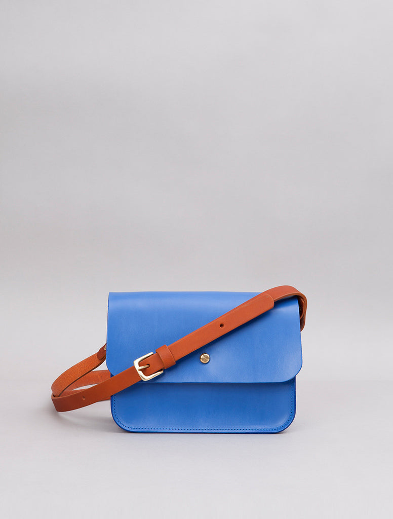 Robin - Cornflower (with tan strap)