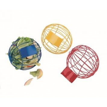 81051 NOBBY Play and food ball assorted colours 10 cm - PetsOffice