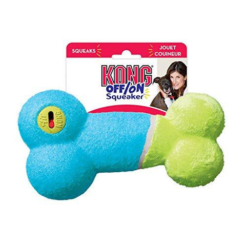 79554 NOBBY KONG Off/On Squeaker Bone M - PetsOffice