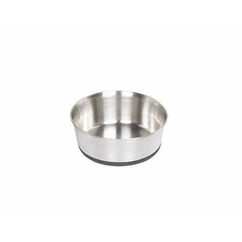 "73270 NOBBY Stainless steel bowl ""HEAVY"" anti slip - PetsOffice"