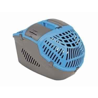 "72190 Carrier box ""Avior"" turquoise l x w x h: 57,5 x 39,5 x 40,5 - PetsOffice"