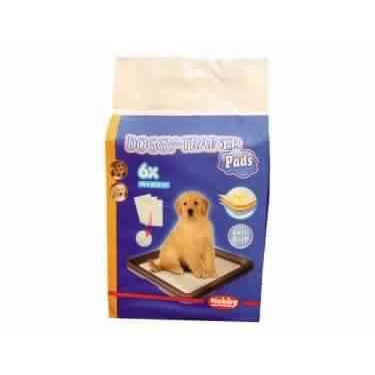 67154 Doggy Trainer Pads 6 pcs., L - 62,5 x 48 cm - PetsOffice