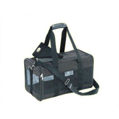 76214 NOBBY Carrier bag nylon black l x w x h: 55 x 30 x 30 cm - PetsOffice
