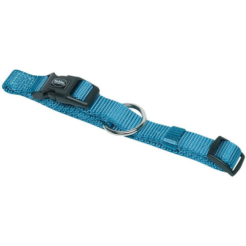 "74702-32 NOBBY Collar ""Classic"" light blue l: 30-45 cm; w: 15 mm - PetsOffice"