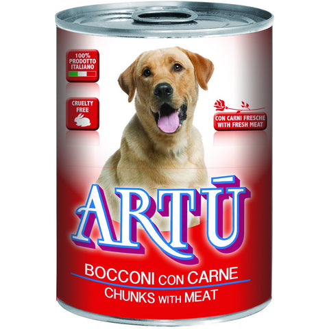 Artu Wet 415g With Meat