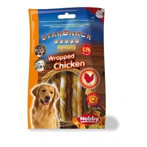 "70013 NOBBY StarSnack Barbecue ""WRAPPED CHICKEN"" 70g - PetsOffice"