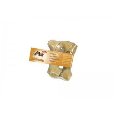 67988 NOBBY Rawhide knotted bones 2 pcs; 13,0- 14,0 cm; 45 g