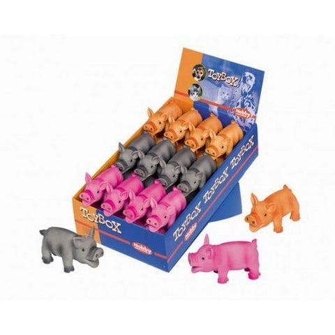 67028 NOBBY Latex Toy Pigs - PetsOffice