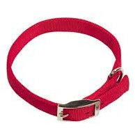 "79231-01 NOBBY Collar ""Classic Soft"" red l: 45 cm; w: 20 mm - PetsOffice"