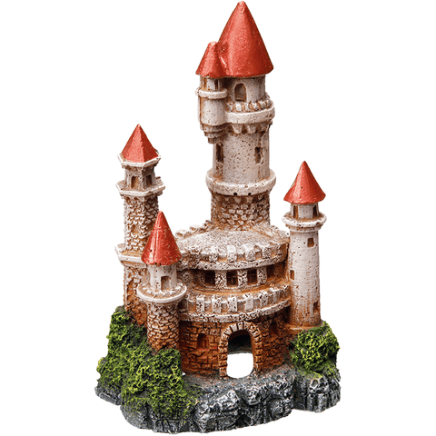 "28260 Aqua Ornaments ""CASTLE"" - PetsOffice"