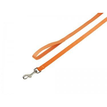 "73163-04 NOBBY Leash ""Classic"" orange l: 120 cm; w: 25 mm - PetsOffice"