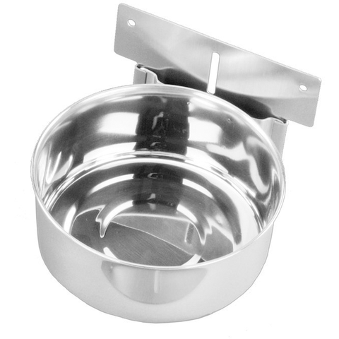 38037 Bowl stainless steel to hang up - PetsOffice