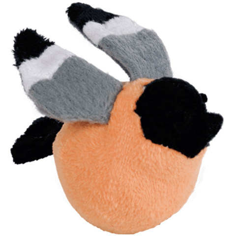 67553 NOBBY Plush BIRD with rattle - PetsOffice