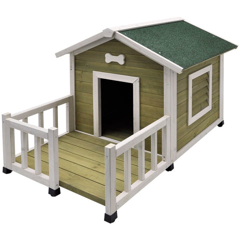 "7385 NOBBY Dog kennel ""TALAMONE JAVA"" l x w x h: 115 x 76 x 74 cm"