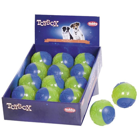 "60298 NOBBY TPR ball ""TWIN"" 8 cm - PetsOffice"