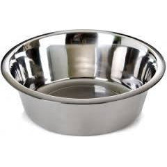 72810 NOBBY Stainless steel bowl 28,5 cm 4,10 ltr. - PetsOffice