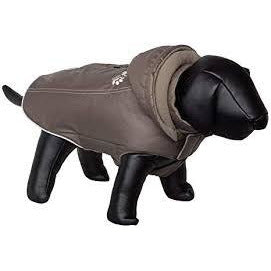 "66555 NOBBY Dog coat ""BULLY"" taupe 34 cm - PetsOffice"
