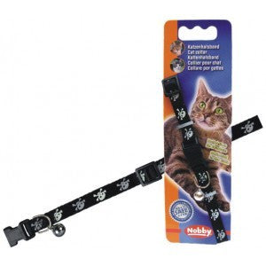 78075 Cat collar Scull - PetsOffice