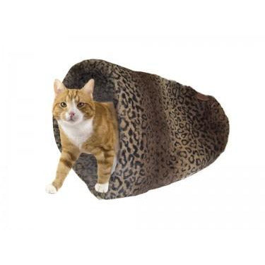 "60566 NOBBY Cosy bag bed ""ALANIS"" brown 45 cm - PetsOffice"