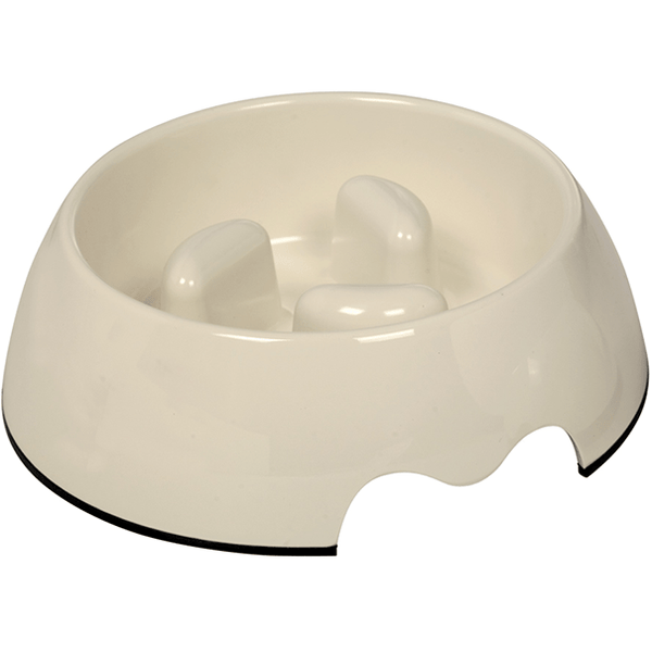 73487-02 NOBBY Anti-gulping bowl 22 x 7,5 cm, 750 ml - PetsOffice