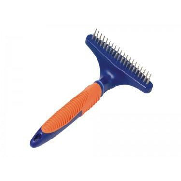 79493 NOBBY COMFORT LINE disentangler comb with rotating blades 20 teeth - PetsOffice