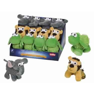 60412 NOBBY Moppy Toy Sheep/Elephant/Lion 12-14 cm - PetsOffice