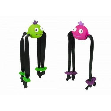 67421 NOBBY Latex Spider 2 colors assorted 6,5 cm (20 cm legs) - PetsOffice