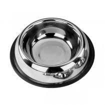 72820 NOBBY Stainless steel bowl, anti slip 32,0 cm 2,90 ltr - PetsOffice