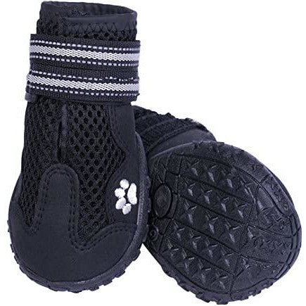 "75994-05 NOBBY Dog boot ""Runners Mesh"" 2pcs black size: XL (7) , l: 71 mm; w: 66 mm"