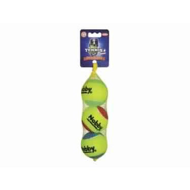 60496 NOBBY Tennis ball with squeeker - PetsOffice