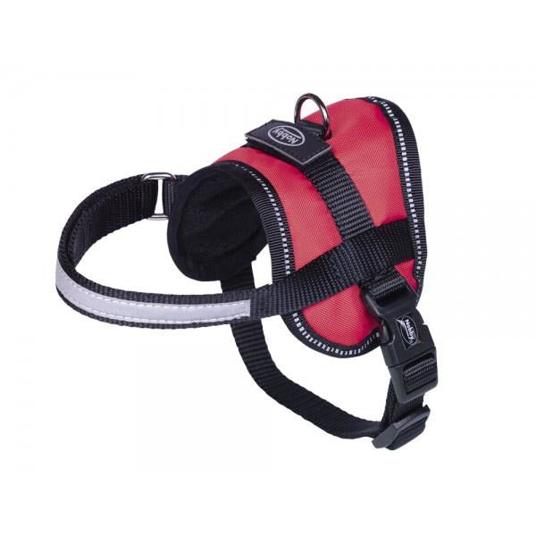 "80579-01 NOBBY Harness ""Seguro"" Mini red waist: 31-40 cm; W: 15 mm - PetsOffice"