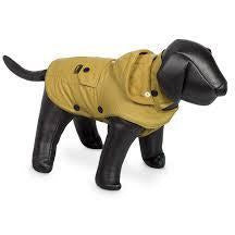 "68177 NOBBY Dog coat ""MELLOW"" mustard 32 cm - PetsOffice"