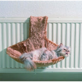 "72033-07 NOBBY Cat bed ""PARADIES"" grey with paws - PetsOffice"
