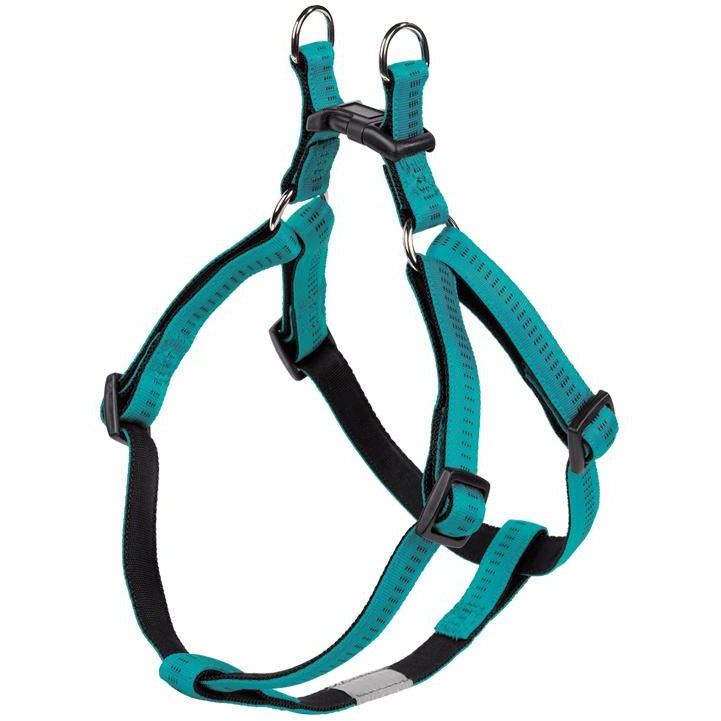 "78521-34 NOBBY Harness ""Soft Grip"" turquoise chest: 50/72 cm; w: 20 mm - PetsOffice"