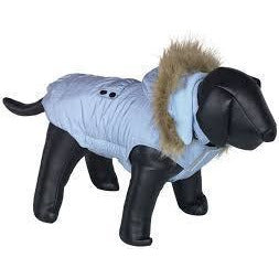 "66719 NOBBY Dog coat ""LIAM"" light blue 44 cm - PetsOffice"