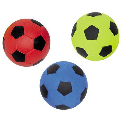 79452 NOBBY Foam rubber Football assorted 5,7 cm - PetsOffice