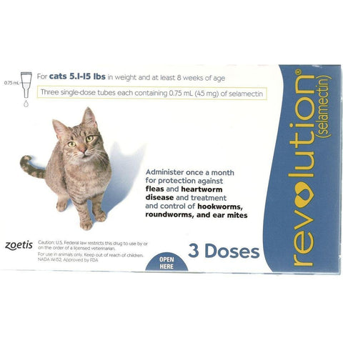 Revolution for Cats (1 Dose) - PetsOffice