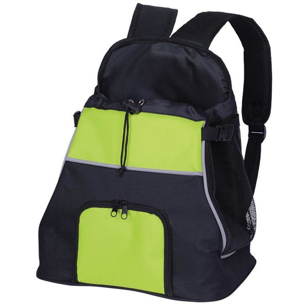 "63808 NOBBY Front Carrier ""LUIS"" black/green 30 x 24 x 38 cm"