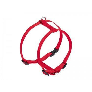 "73165-01 NOBBY Harness ""Classic"" red chest: 20/35 cm; w: 10 mm - PetsOffice"