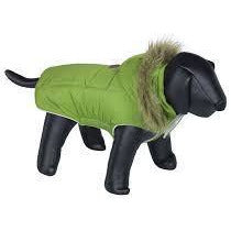 "66668 NOBBY Dog coat ""ELNA"" green 23 cm - PetsOffice"