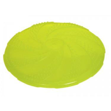 60001 NOBBY TPR Fly-Disc yellow 22,5 cm - PetsOffice