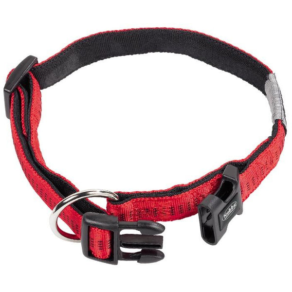 "78513-01 NOBBY Collar ""Soft Grip"" red l: 50/65 cm; w: 25 mm - PetsOffice"