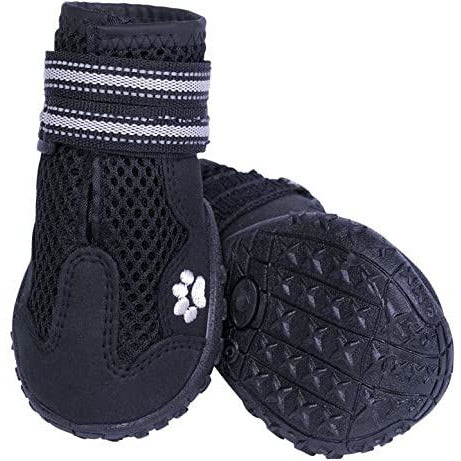 "75992-05 NOBBY Dog boot ""Runners Mesh"" 2pcs black size: M (5) , l: 65 mm; w: 56 mm"